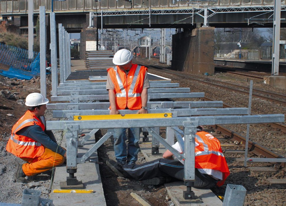 Modular railway platform from Tata Steel
