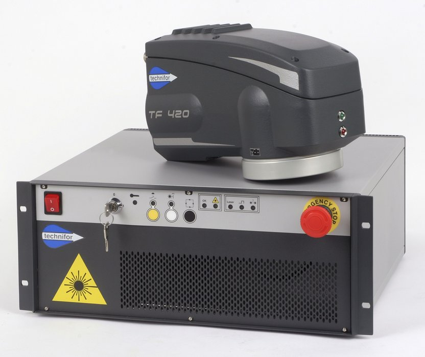TF420, a very compact 20W laser marker